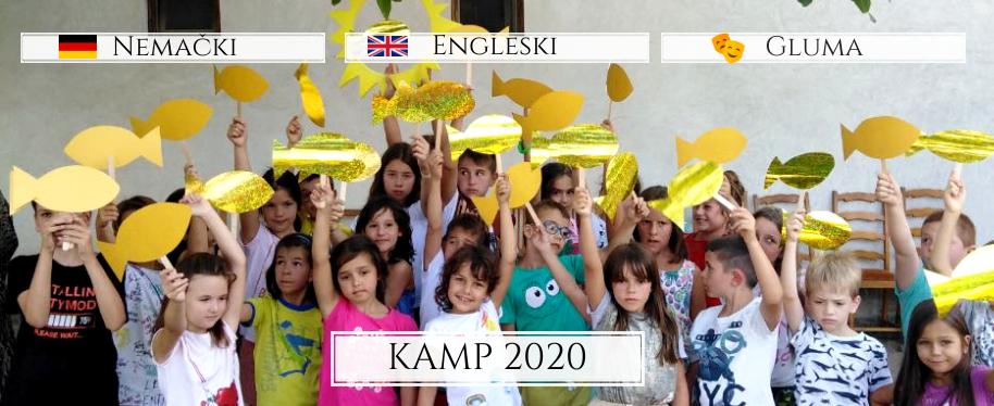 Letnji kamp za decu - Palić 2013